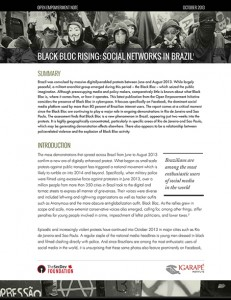 Black Bloc Rising - Social Networks in Brazil