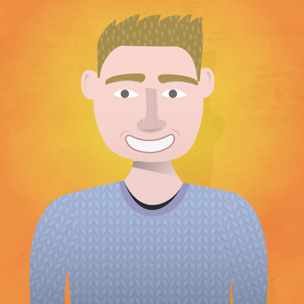 Illustration of Alan
