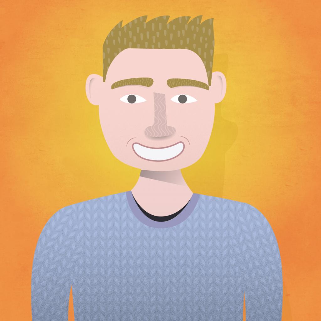 Illustration of Alan