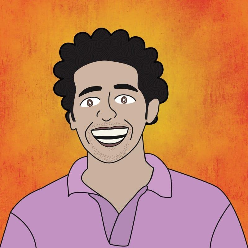 Illustration of Ahmad