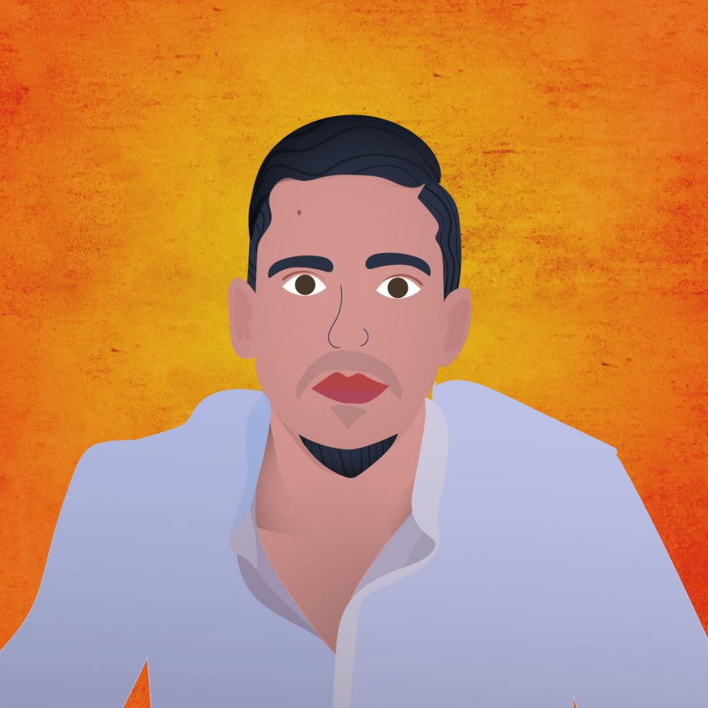 Illustration of Majd