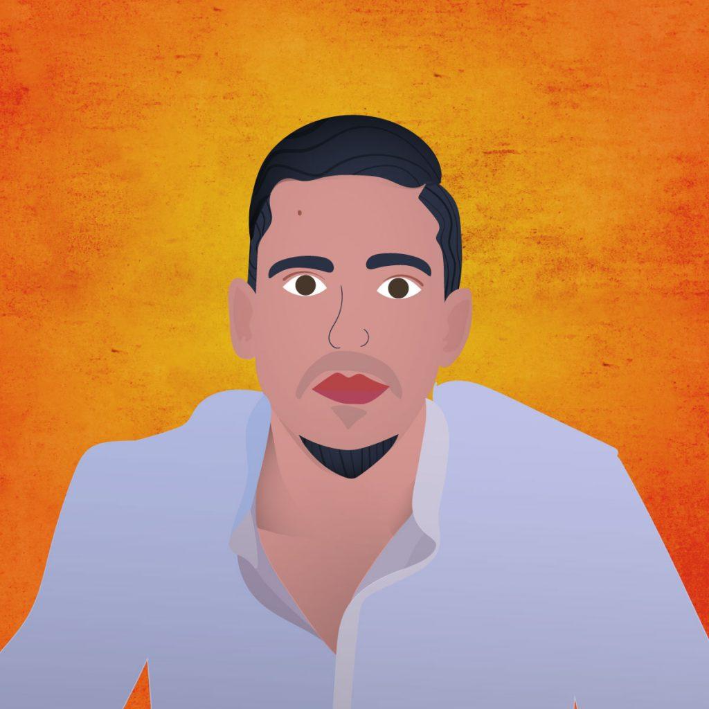Illustration of Majd